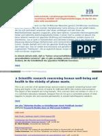 Strahlenfolter - Gepulste Strahlung des Mobilfunks wirkt sich verheerend auf den Körper - www_iddd_de