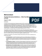 082112 the New Derivatives Definitions What Fund Managers Need to Know