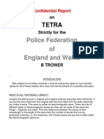 Bio-Electromagnetic Weapons - Barrie Trower - Confidential Report - Tetra_uk_trowers-confidential-report_2001