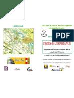 plaquette_cross espérance _2012_recto