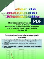 Cap.5 Poder de Mercado. Monopolio