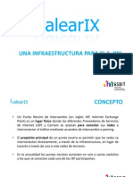 Presentacion gsBit proyecto BalearIX Punto Neutro Intercambio de tráfico de Internet