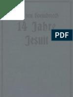 Hoensbroech, Paul - 14 Jahre Jesuit - Band 2 (1912, 206 S., Scan, Fraktur)