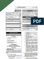 Ley 29873 Modifica Ley Contrataciones del Estado 01-06-2012