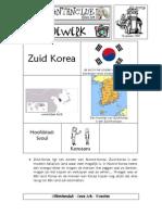 Microsoft Word - Zuid-korea