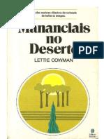 Mananciais No Deserto - Lettie Cowman
