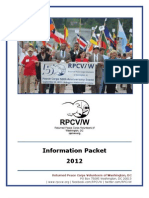 2012 RPCV/W Information Packet