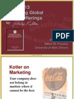 Designing Global Market Offerings