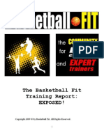 Basketball Fit FREE Training Report