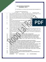 Assignements - BME