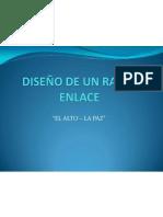DISEÑO DE UN RADIO ENLACE