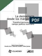 LIBRO - La Democracia desde los Márgenes en Bolivia - CLACSO 2011