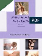 5.-Nutrición de la mujer adulta no embarazada
