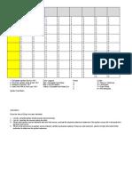 Field Notes Ignition Fuel Matrix