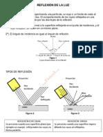 REFLEXIÓN Y REFRACCION DE LA LUZ F4