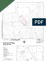 Lyon G 1H Spacing Unit Map