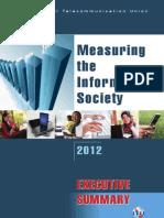 Measuring the Information Society 2012 (Executive Summary)