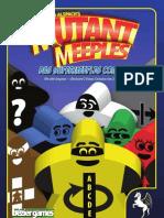 Mutant Meeples - Wie alles begann.. der Comic.