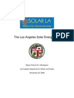Los Angeles Solar Energy Plan