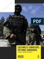Informe sobre la Tortura Amnistía Internacional