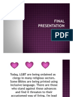 LGBT & Church Presentation