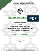 Proy. RESCATE en Construccion