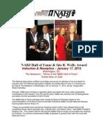 2013 NABJ HOF Sponsorship Package
