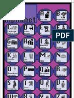 Homework 4 - 80's Alphabet