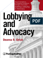 Lobbying and Advocacy sample pages