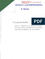 Morata Enrique - Maquiavelo Y Los Empresarios