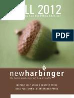 New Harbinger Fall12TradeCatalog
