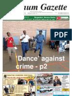 Platinum Gazette 12 October 2012