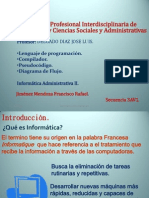 Info II Lenguaje de Programación