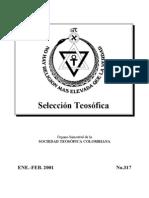 Selección Teosófica - Ene 2001