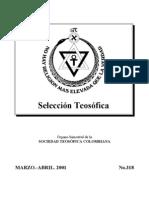 Selección Teosófica - Mar 2001