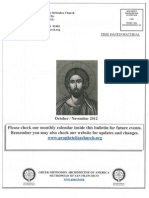 Prophet Elias October:November Master Bulletin