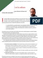 Sustentabilidad en La Cultura Material _ Miguel Angel Gonzalez R