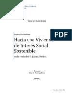 Hacia Una Vivienda de Interes Social Sostenible