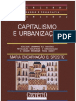 Maria Encarnação Beltrão Sposito - Capitalismo e urbanização (pdf) (rev)