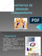 Inventarios de Demanda Independiente