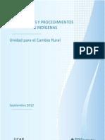 Lineamientos y procedimientos para Pueblos Indígenas