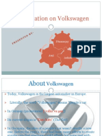 Presentation on Volkswagen's History