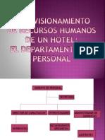 EL DEPARTAMENTO DE PERSONAL