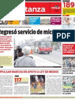 Tapa La Matanza 12/10/2012