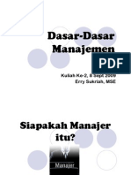 EMA WK2 Dasar-Dasar Manajemen [Compatibility Mode]