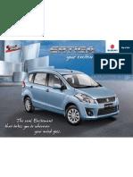 Brochure Suzuki Ertiga