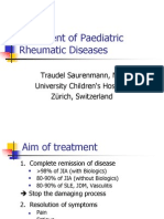 9 Treatment of Paediatric Rheumatic Diseases