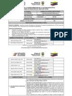 Agenda de Registro de Visita ACA 003