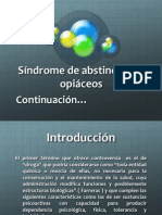 8.5 Sindrome de Abstinencia