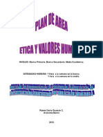 Plan General de Etica y Valores 2013